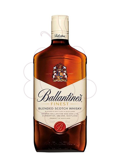 Photo Whisky Ballantine's refillable
