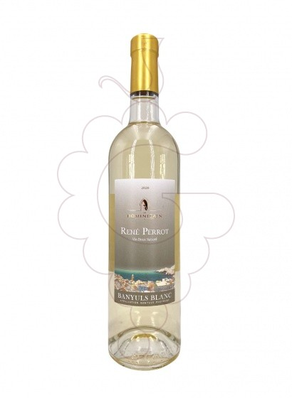 Photo Banyuls Blanc Cuvee Perrot fortified wine