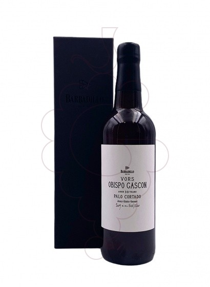 Photo Barbadillo Obispo Gascon fortified wine