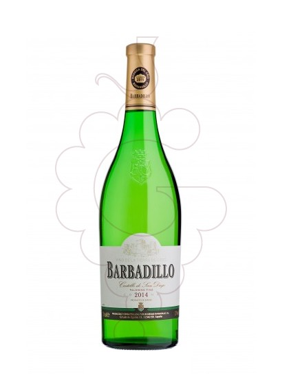 Photo Barbadillo Castillo San Diego Magnum white wine