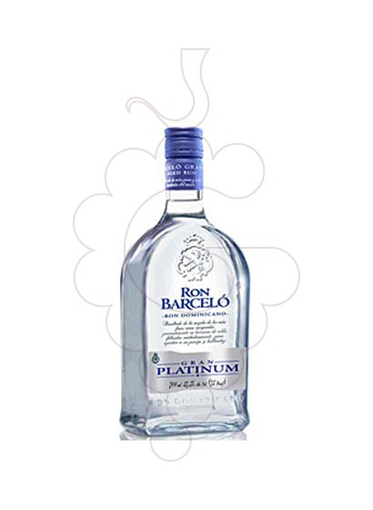 Photo Rum Barceló Platinum