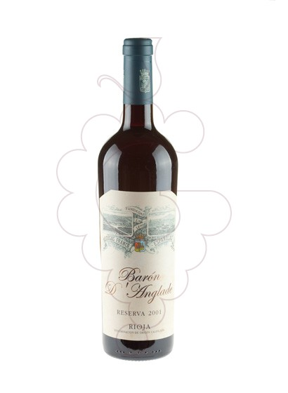 Photo Baron d'Anglade Reserva red wine