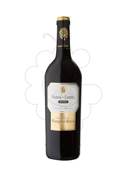 Photo Baron de Chirel Reserva red wine