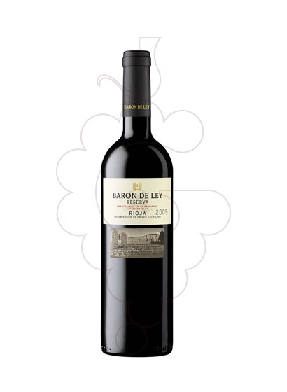 Photo Baron de Ley Reserva Negre red wine