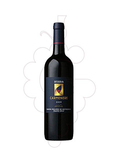 Photo Baron Philippe Carmenere red wine