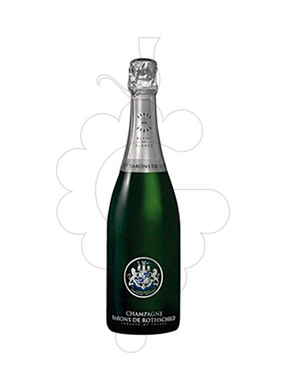 Photo Barons Rothschild Blanc de Blancs sparkling wine