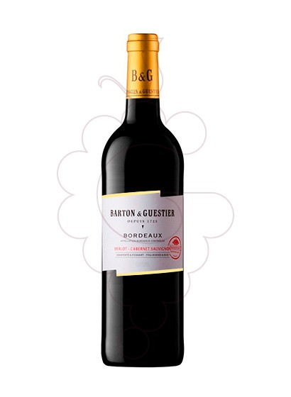 Photo Barton & Guestier Bordeaux red wine