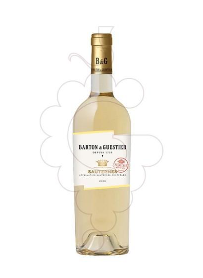 Photo Barton & Guestier Sauternes fortified wine