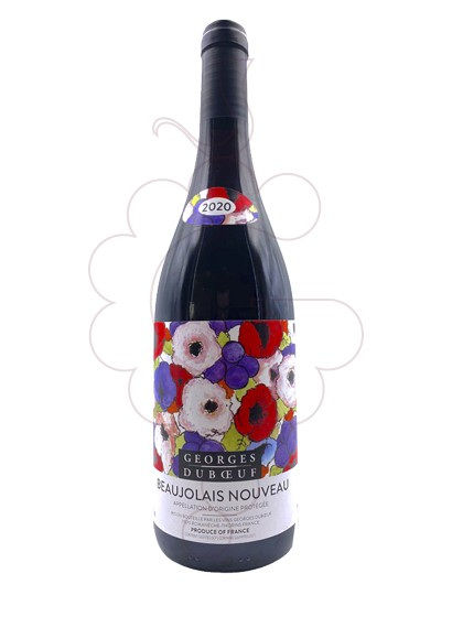 Photo Beaujolais Georges Duboeuf red wine