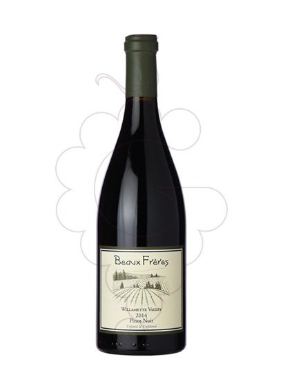 Photo Beaux Frères Willamette Valley Pinot Noir red wine