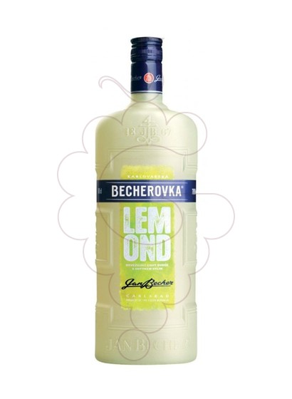 Photo Liqueur Becherovka Lemond