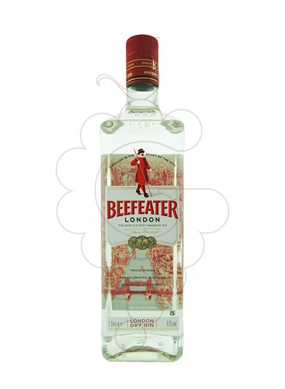 Photo Gin Beefeater refillable