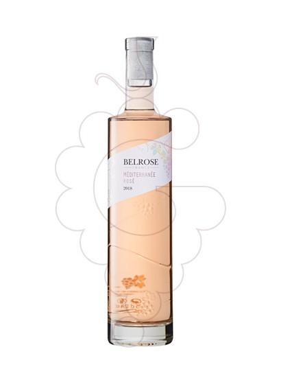 Photo Rosé Belrose Mediterranée Rosé rosé wine