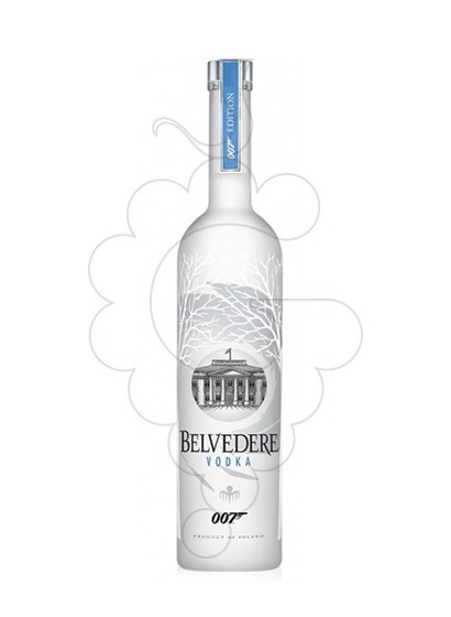 Photo Vodka Belvedere 007 edition