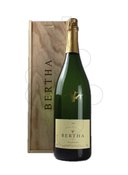 Photo Bertha Cardus Gran Reserva Brut Nature Jeroboam sparkling wine