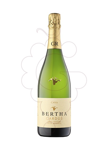 Photo Bertha Cardús Gran Reserva Brut Nature sparkling wine