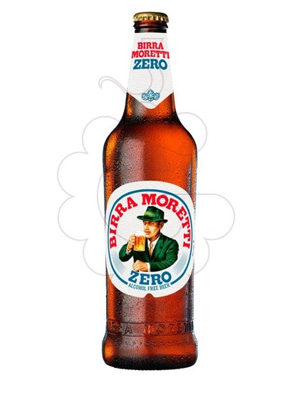 Photo Non-alcoholic beer Birra Moretti Zero s/alc