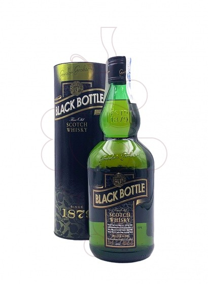 Photo Whisky Black Bottle Gordon Grahams