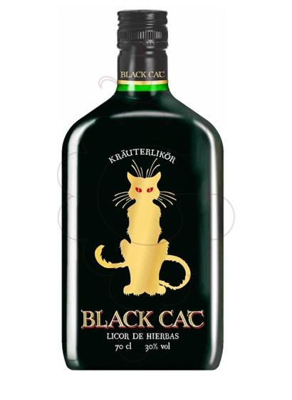 Photo Liqueur Black Cat Licor de Hierbas