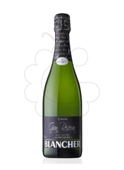 Photo Blancher Brut Nature sparkling wine