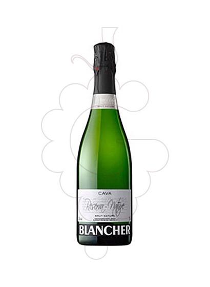 Photo Blancher Reserva Brut Nature sparkling wine