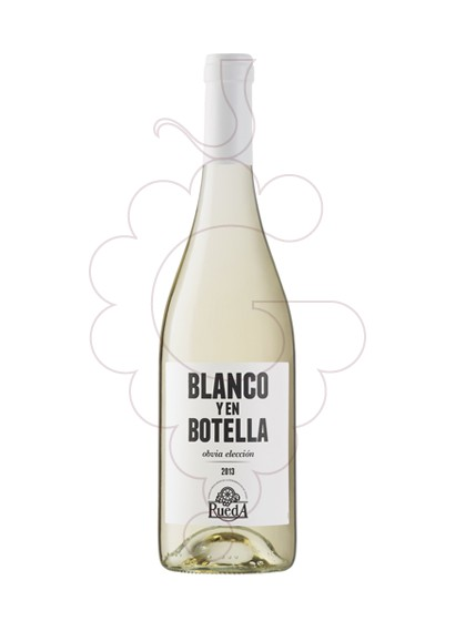 Photo Blanco y en Botella white wine
