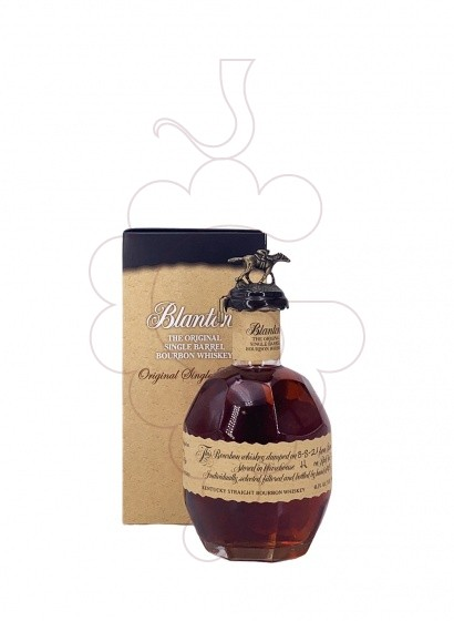 Photo Whisky Blanton's Original S. Barrel