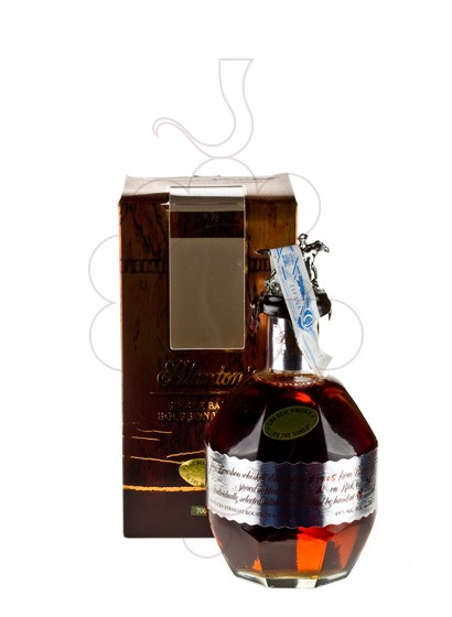 Photo Whisky Blanton's (Silver Edition)
