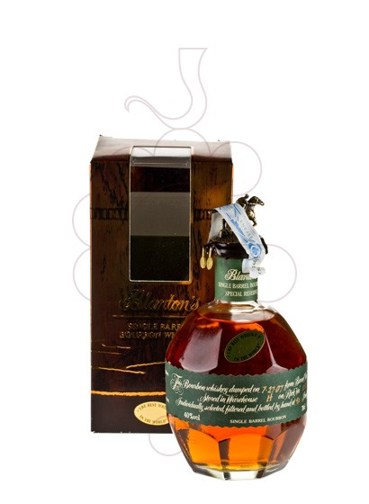 Photo Whisky Blanton's Special Reser (Green Edition)