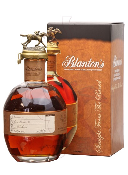 Photo Whisky Blanton's Straight From Barrel