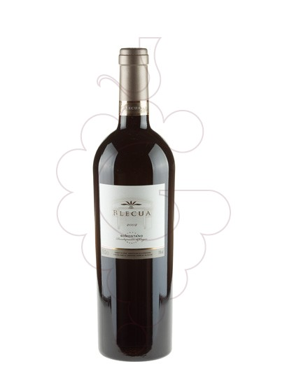 Photo Blecua red wine