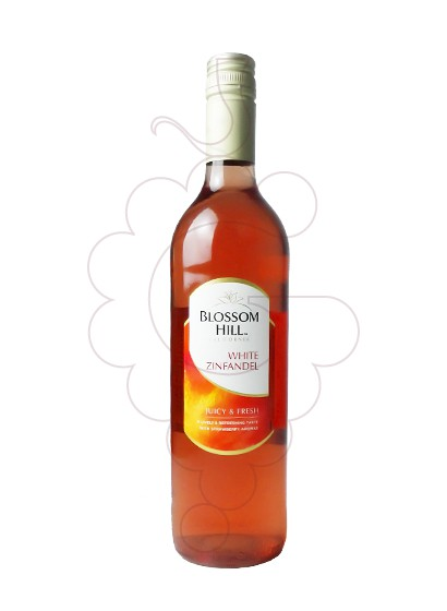Photo Blossom Hill White Zinfandel rosé wine