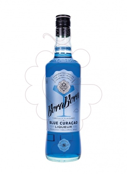 Photo Liqueur Blue Curaçao Bora Bora