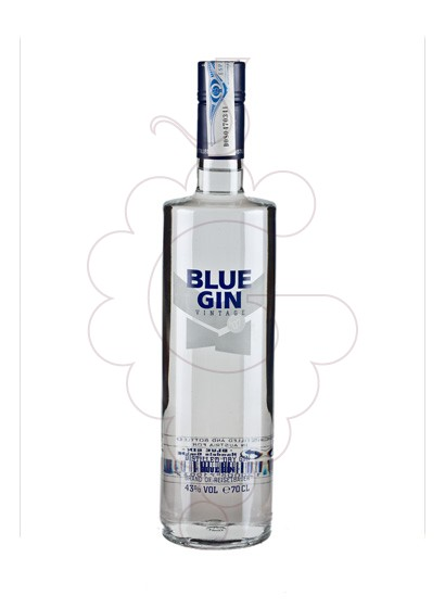 Photo Gin Blue Gin Vintage