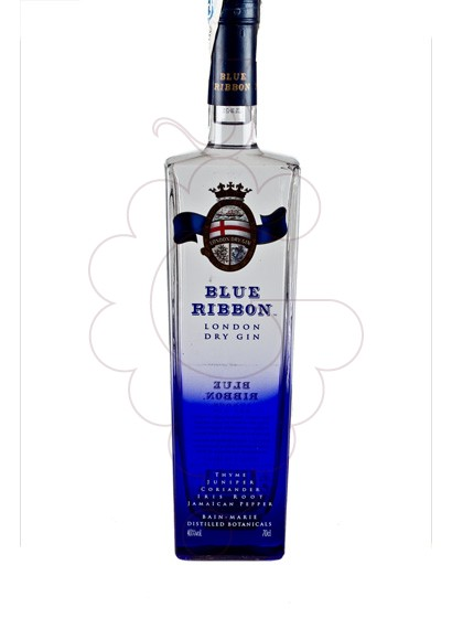 Photo Gin Blue Ribbon