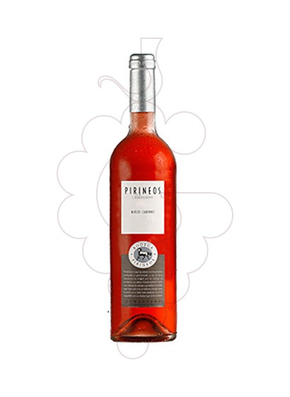 Photo Bodega Pirineos Merlot Cabernet Rosat rosé wine