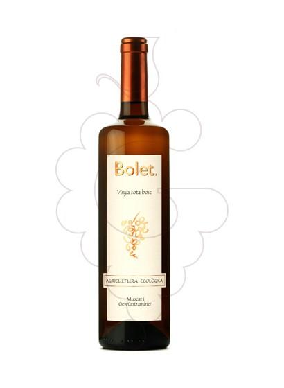Photo Bolet Blanc Vinya Sota el Bosc white wine
