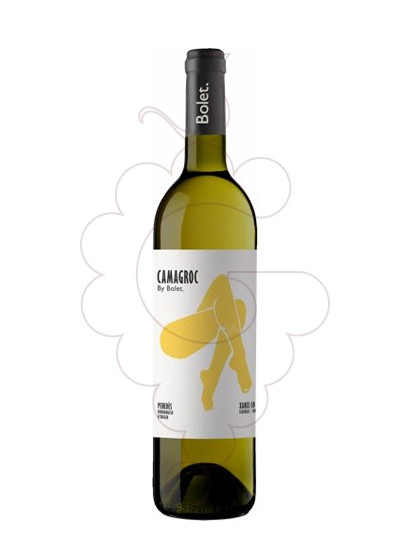 Photo Bolet Camagroc Xarel.lo Ecològic white wine