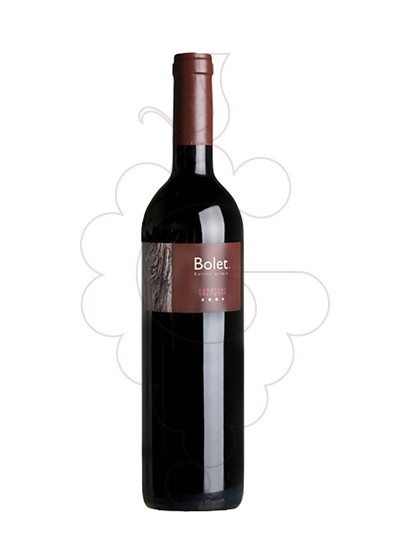 Photo Bolet Cabernet Sauvignon red wine