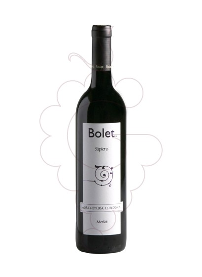 Photo Bolet Sàpiens Merlot red wine