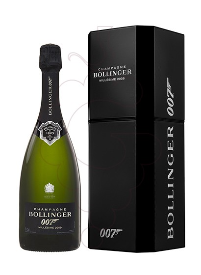 Photo Bollinger 007 + Case sparkling wine