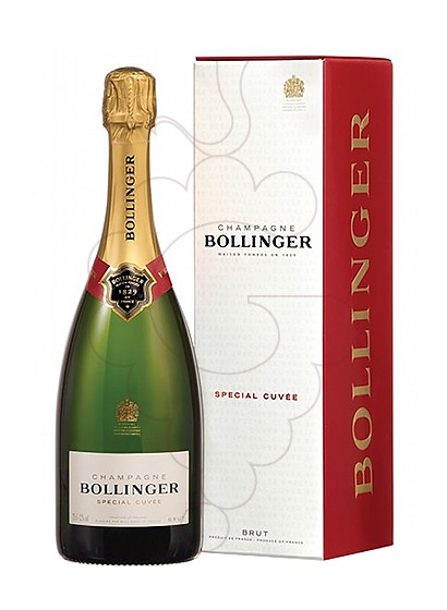 Photo Bollinger Cuvée Brut Pack sparkling wine