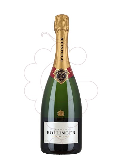 Photo Bollinger Cuvée Brut sparkling wine