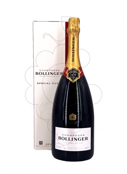 Photo Bollinger Cuvée Brut Magnum with Case  sparkling wine