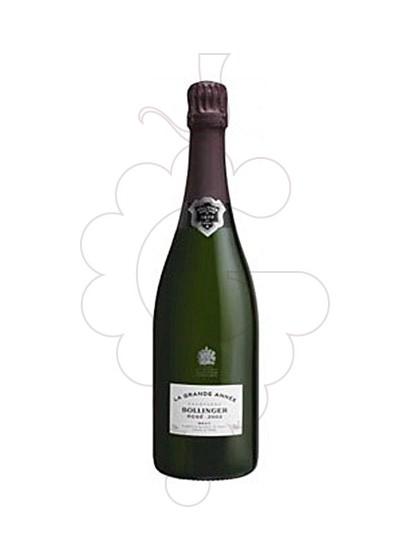 Photo Bollinger La Grande Année Rosé sparkling wine