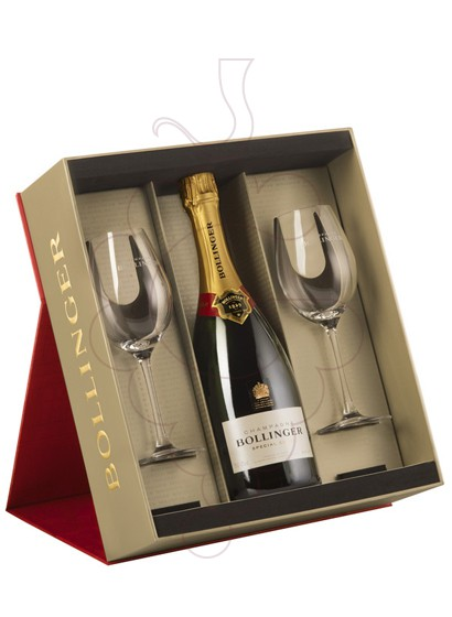 Photo Gift boxes Bollinger Cuvée Brut Pack (1 u + 2 glasses)