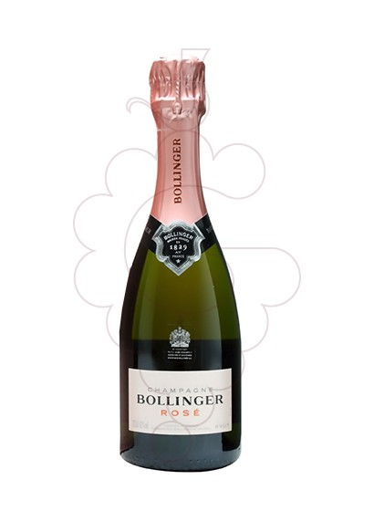 Photo Bollinger Rosé Brut (mini) sparkling wine
