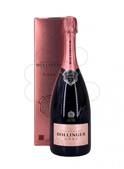 Photo Bollinger Rosé Brut Pack sparkling wine