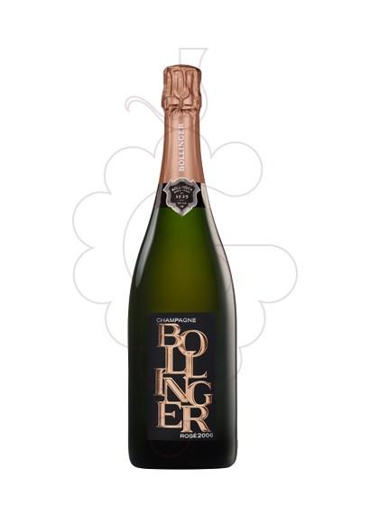 Photo Bollinger rose millesime 2006 sparkling wine