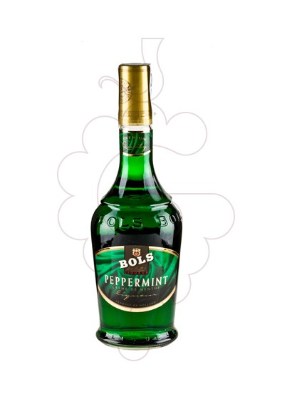 Photo Liqueur Bols Pippermint Green Teardrop